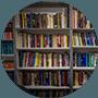 school library full of books