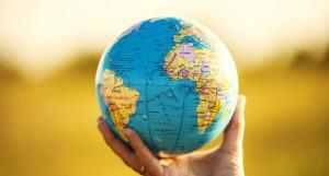 world globe signifying teaching english abroad