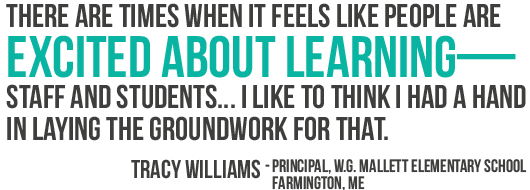 There are times when it feels like people are excited about learning—staff and students... I like to think I had a hand in laying the groundwork for that.